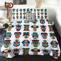 BeddingOutlet Mask Thin Quilt Zulu Aztec Comforter Set 4 Pie...