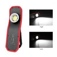 Fangnymph USB قابلة للشحن LED ضوء العمل المحمولة شنقا هوك التخييم إصلاح السيارات ورشة عمل الإضاءة الطوارئ 1