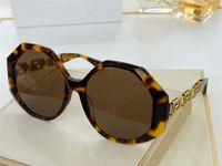 4395 Neue Stil Netto Celebrity Mode Damen Sonnenbrille Bezaubernde Platte Full Frame Sonnenbrille UV-Schutz Outdoor Top Quality Box