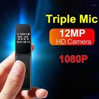 مصغرة كاميرات 2021 1.1 عرض رباعية النواة المهنية كاميرا فيديو 1080P comcorder الرقمية مسجل الصوت القلم po تسجيل 1