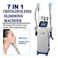 Cryolipolysis تجويف RF ضئيلة آلة مزدوجة الذقن الدهون تجميد الليزر ليبو فقدان الوزن شفط الدهون معدات تدليك