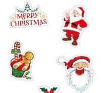 Noel Noel Baba Paster Duvar Araba Teşekkür Etiketler Banyo Ev Odası Dekorasyon Su Geçirmez Kağıt Trunk Dizüstü Sıcak Satış 3 5XQ M2