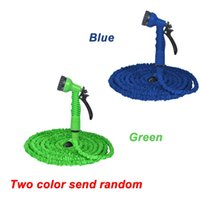 25FT-100FT Garden Hose Expandable Magic Flexible Water Hose EU Plastic Hoses Pipe With Spray Gun To Watering Car Wash Spray