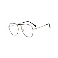 70% di sconto Polygon Polygon Short-sell-seller commercio di vetro telaio metalli Trend Trend Kick-off Men And Women Buturt-Sight Glasses 1889olo