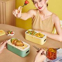 220V caixa de almoço elétrico nomeação inteligente panela de arroz pote mini multicooker forro cerâmico de água com exibição digital 1L