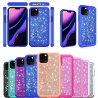 Full Protective Case Glitter TPU Shockproof Shiny Back Cover...