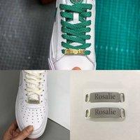 Nombre de encargo de zapatos hebilla etiqueta personalizada joyería de las mujeres de los hombres de acero inoxidable Placa de identificación Buckie gótica del encanto del oro