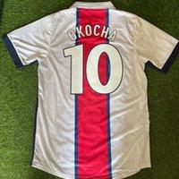 1998/99 الرجعية لكرة القدم الفانيلة Okocha 10 Ronaldinho 21 Simone 1999 كرة القدم قميص كيت camisea دي كلاسيكي فيوتول جيرسي camiseta تايلاند قميص جودة أطقم حجم S-XXL