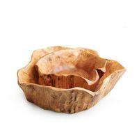 Schüsseln Geschirr Küche Essbar Hausgarten Drop Lieferung 2021 Kreative Holz Große getrocknete Früchte Platte MultiGrin Süßigkeiten Teller Gitter Holz RO