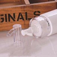 Boş Pet Plastik Şişe Losyonu Pompa Şişesi E Sıvı Parfüm Sprey Şişesi Akrilik Pompa 120ml 160ml 200ml Kozmetik Konteyner EEF3937