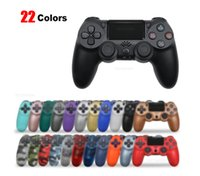 PS4 컨트롤러 용 블루투스 무선 조이스틱 Mando PS4 PS3 콘솔 용 PlayStation 듀얼 쇼크 4 Gamepad