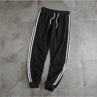Pantalones de hierba de rayas deportivas para hombres casuales largas mujeres pantalones de otoño hombres jogger pantalones mujeres pantalones rectos ropa de jogging 7 Color