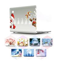 Coque d'impression couleur Christmas pour MacBook Air Pro Retina 11 12 13 15 16 pouces pour A1932 A2289 A1989 A2179 A1466