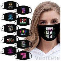 2021 Designer Ansiktsmask Jultryckt ansikte Masker Män Kvinnor Vuxen Dammsäker Haze Facemask 200PCS T1I3365