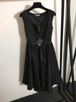 Milan Pist Elbise 2021 İlkbahar Yaz O Boyun Panelli Tasarımcı Elbise Marka Aynı Stil Elbise Weinishi