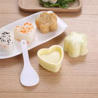 삼각형 금형 스시 찐 쌀 해초 도구 숟가락 원래 패턴 다이 어린이 벤토 금형 주방 새로운 도착 3 5ZH K2