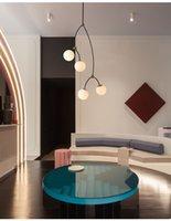 Ağaç Şube Avize Tasarım Mdwell Modern Art Deco Moleküler Lamba Oturma Yemek Odası Kabarcık Kolye
