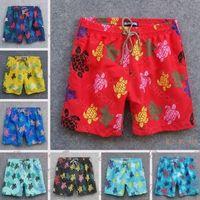 Vilebrequin Men Estate Swim Swim Brevi Tartarughe Bermuda Beach Shorts Più Nuovi Pantaloncini Casual Summer Uomo Stile Modo Pantaloni da uomo