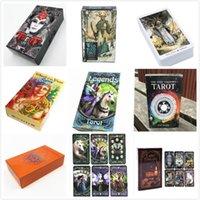 Мистическая палуба Таро 78 карт-прочитайте вашу жизнь, мечты, карты таро будущего 18 стилей
