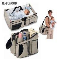 Motoood Multifunzione Pannolino Viaggio Preside Grande capacità Maternità Maternità Baby Passeggino pannolino Mommy Bag 201120