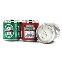 Zinklegierung Krautschleifer 50mm 4-teiliges Metall-Tabak-Brecher-Hand-Muller kann Briefmühlen im Großhandel
