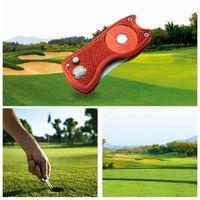 Складные гольф-вилы с гольф-мячом инструмент для мозаики для мозаики для очистителей СПИДа Аксессуары для зеленых вилков