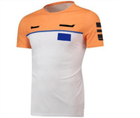 2021 sıcak stil formülü 1 yarış takım elbise kısa kollu t-shirt araba takımı gömlek rahat yuvarlak yaka tee fabrika takım versiyonu takım tulum özel