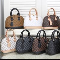 luxurys дизайнеров сумка 2021 Мода ALMA BB мешок оболочки сумки женщины кожаных мешков плеча Кроссбодите сумку сумка