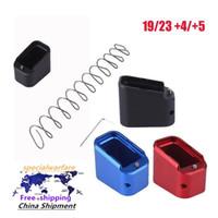 Base in lega di alluminio Extender Mag Base di estensione PAD 19/23 + 4 / + 5