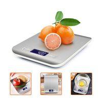 Bilancia della cucina LCD scala digitale alta accuratezza scala tasca 1g 0,1g 0,01g x 500g 5kg gioielli da 10 kg frutta vegetale coff jllfmq