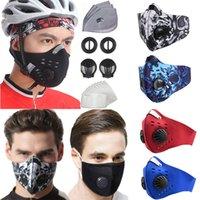 Ciclismo máscara com filtro lavável para exterior protectora protetora Correndo Caminhadas Homens Mulheres Gota Boca Waterproof Dustproof Pm2