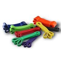 Resistencia de látex Cuerda de yoga Tensión Tensión Cinturón Fitness Elástico Squat Capacitación HIP Formado Equipo conveniente para el hogar 07JW063