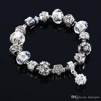 Bracelet de charme authentique femmes tibétain femmes originales bijoux originaux bracelet de perle de Noël