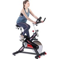 US Stock intérieur Cyclisme Vélo Courroie d'entraînement fixe vélo avec écran LCD Moniteur Coussin Accueil Cardio Workout MS192899AAJ