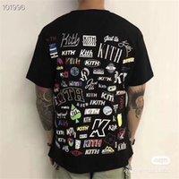 2021 Yeni Boy T-shirt Erkek Kadın Kutusu T-Shirt Geri Yaz Stil 1: 1 Kith Tee T6ra