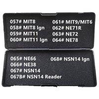 57-68 Lishi 2 1 MIT8 MIT11 MIT9 MIT6 NE71R NE72 NE78 NE66 NE38 NSN14 Okuyucu Çilingir Tüm Türler için Aletler