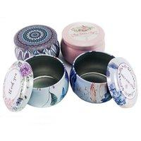 125styles !! Süßigkeit Tins Metall Leer Runde Metallaufbewahrungs Blechdosen Gläser Container Spielraum-Speicher-Tins für Süßigkeit Keks Lippen DIY Kerzen EEE2636