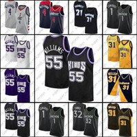 Jason Russell Williams Westbrook Jersey SacramentoKings.Jersey Anthony Towns Edwards Jerseys Reggie Kevin Miller Garnett Ad4V
