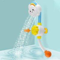 Un sacco di divertimento Bagnetto soffione doccia, Carino Nuvola becco, Bagnetto Spray Giocattoli con il pollone per il neonato bambini in vasca o Sink amato da bambino