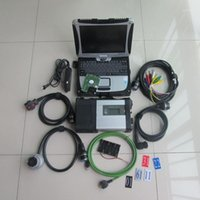 Ferramentas Diagnósticas MB Star C5 SD Connect com laptop CF19 Toughbook PC Est Software V2021.12 HDD para Quality1