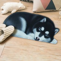 Nuevas alfombras antideslizantes de dibujos animados de dibujos animados de impresión en forma de esteras sala de estar de piso de baño plato de cocina alfombrillas de alfombras 40x60 50x80 cm1