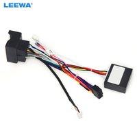 Автомобиль Leewa Auto 16Pin Audio жгут проводов с CANBUS Box для Roewe 550 Aftermarket Stereo Установка проволоки адаптер # 6546