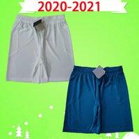 20 21 Ibrahimovic CA Soccer Shorts 2020 2021 Calhanoglu Milão Brahim Rebic Theo Tonali Mens Calças de Futebol Romagnoli Away Branco Azul