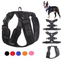 Cablaggio per cani da compagnia per imbracature riflettenti pitbull Cablaggi di sicurezza Dogs Sport No Pull Vest Husky Regolabile Prodotto per addestramento per animali domestici Chihuahua1