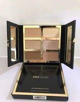 Dernier top Quality Pro Glow HighlightContour Palette Palette Eau à oreillettes 6 nuances Expédition