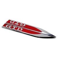 Auto Fender Side Sticker Auto Badge Emblem Aufkleber für Volkswagen GTD Logo Golf 4 5 6 7 Mk3 Polo Passat Sagitar Magotan Tiguan Bora