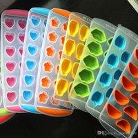 Großhandel Gummi Eiswürfel Fach Kreative Obst Maker Freeze Mold Eiswürfel Tablett Eiszeugmaschine Form Für Küchenparty Werkzeuge DBC DH0632