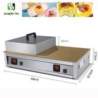 Ekmek Makineleri Dijital Kontrol Çift Kafa Kabarık Japon Sufle Krep Souffler Maker Makinesi, Tayvanlı Gözleme Tarifi1