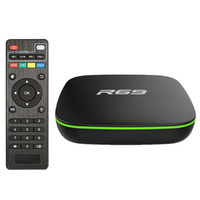 R69 Akıllı Android 7.1 TV Kutusu 2.4G WIFI Allwinner H3 Dört Çekirdekli Set Üstü Kutu 1080 P HD 3D Film Media Player 1 GB 8GB