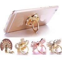 Titulares de telefone Anel Bling Diamond Mix Cellphone Suporte para iPhone Samsung S10